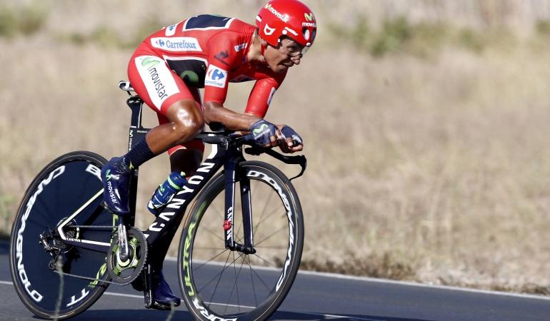 Como en casa, Nairo define el titulo de la Vuelta en la montaña