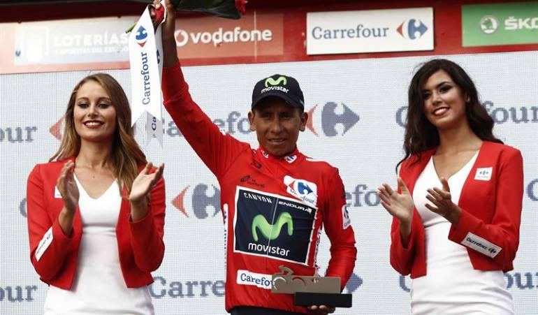 Nairo Quintana campeón Vuelta a España Esteban Chaves: Nairo Quintana, virtual campeón de la Vuelta a España