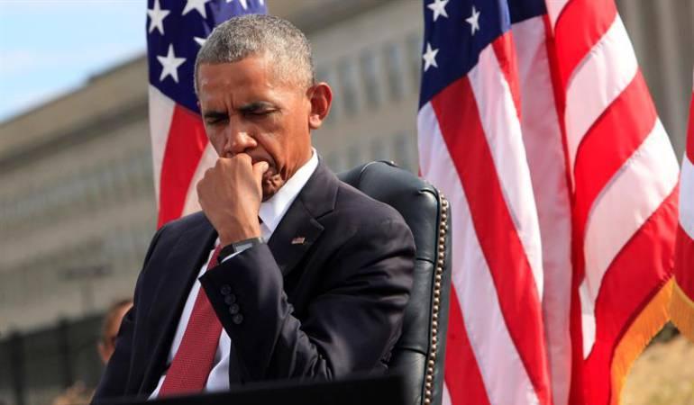 """Obama reitera que EE.UU. """"nunca olvidará"""" en el 15 aniversario del 11S"""