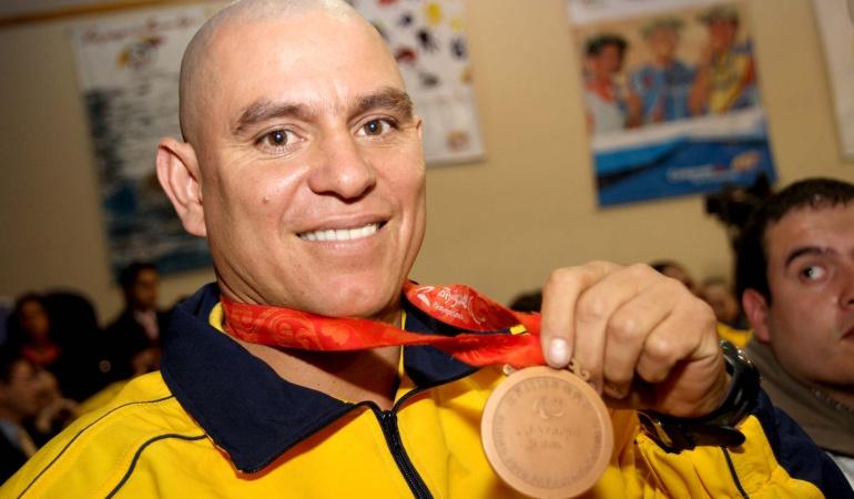 Octava medalla para Colombia en los Paralímpicos: Moises Fuentes obtuvo bronce