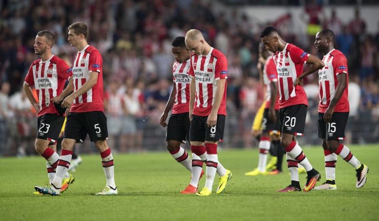 PSV 0-1 Atlético de Madrid: Sin Santiago Arias en cancha, PSV cae de local 0-1 ante el Atlético de Madrid