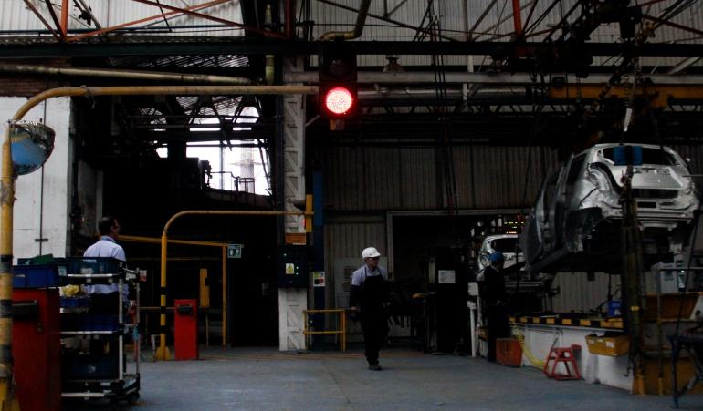 Producción industrial en julio registró una caída de 6.2%: DANE