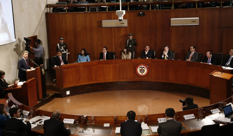 Demanda del Centro Democrático contra el plebiscito pasó a la Corte Constitucional