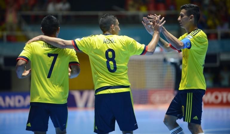 Colombia clasificó a los octavos de final en Mundial de fútsal
