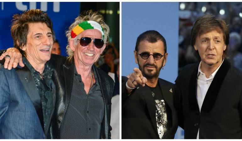 The Rolling Stones y The Beatles: The Rolling Stones y The Beatles, duelo en formato documental
