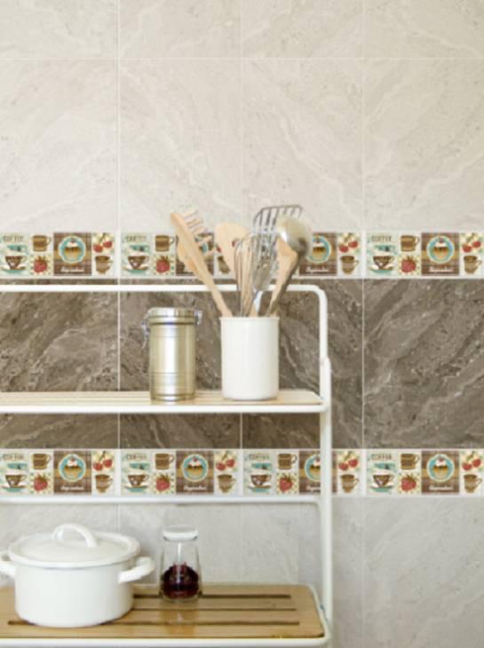 Decoraci n de paredes y pisos tendencias para la for Ceramica corona para cocina