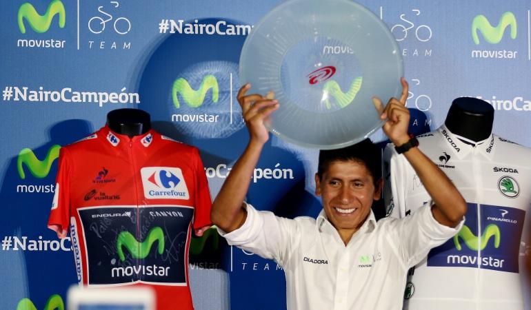 CICLISMO MÉXICO: Nairo es un corredor inteligente y poderoso: Carlos Sastre