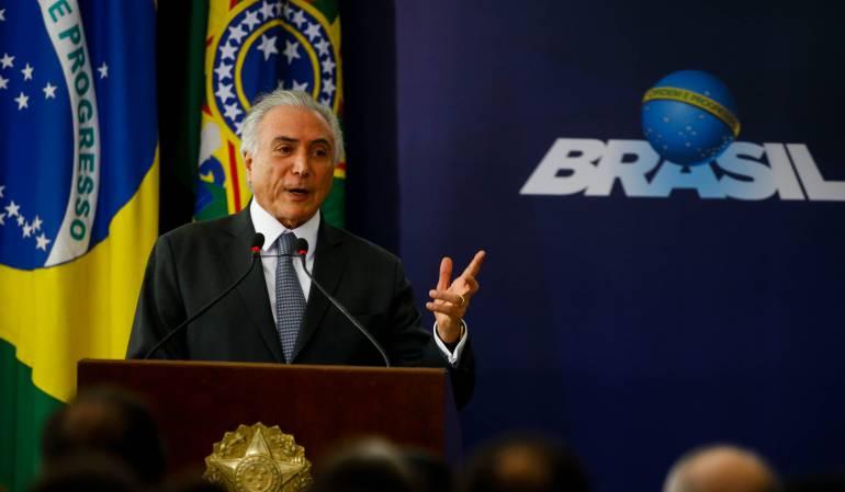 Michel Temer, corrupción Brasil: El Tribunal Supremo de Brasil da Luz verde para investigar denuncia de corrupción contra Michel Temer