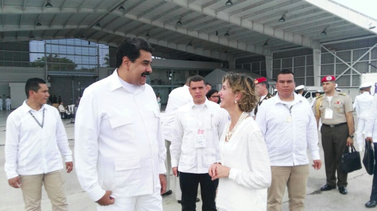 Maduro llega a Colombia para asistir a firma del acuerdo de paz con las Farc