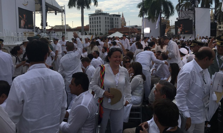 Acuerdos definitivos de paz con las Farc: Farc pidieron que 40 de sus integrantes estén en la ceremonia: Iván Cepeda