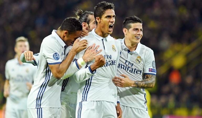 Borussia Dortmund 2-2 Real Madrid Liga de Campeones: En vibrante partido el Dortmund y el Real Madrid igualan 2-2 en Champions