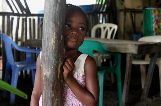 Personas de la región piden una mejor educación para los niños y jóvenes.