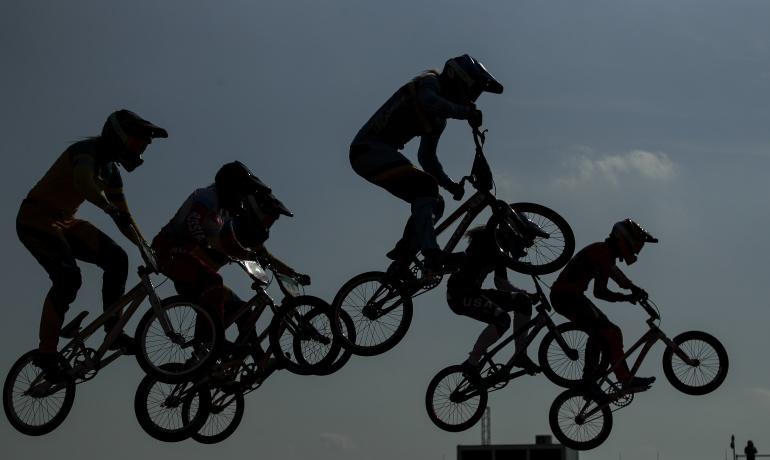 BMX Rock Hill ocho colombianos: Ocho colombianos buscarán título de BMX en Rock Hill