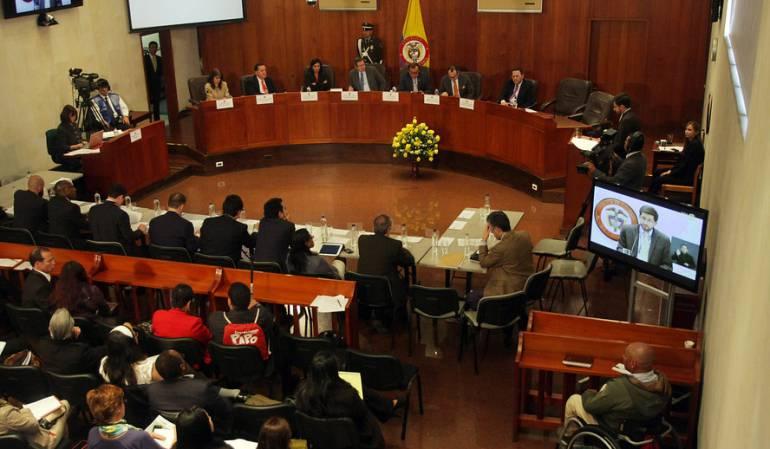 Corte Constitucional decisión del plebiscito: Gobierno puede renegociar, una de las opciones que dio la Corte Constitucional