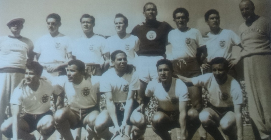Colombia 1957 foto del día El Pulso: Colombia 1957, primer equipo que jugó una Eliminatoria contra Uruguay y Paraguay