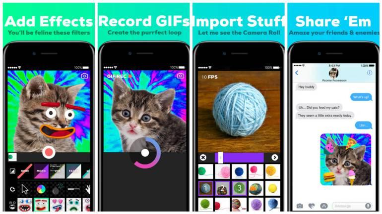 Giphy Cam, la aplicación que le permite crear sus propios GIF's