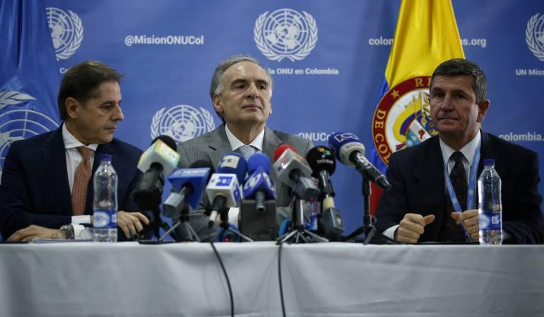 ONU pedirá más observadores para verificar el cese del fuego en Colombia