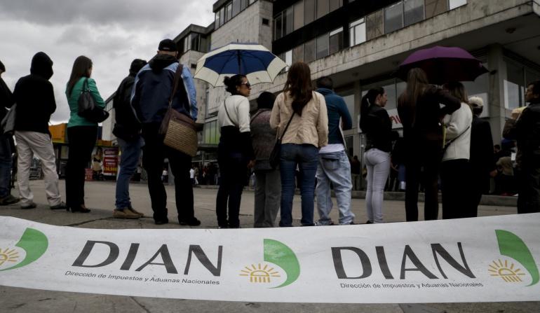 DIAN Tunja: Funcionarios de la DIAN en Tunja también se unieron a paro nacional