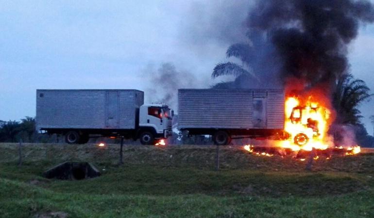 Atentado del ELN en Arauca deja dos personas muertas