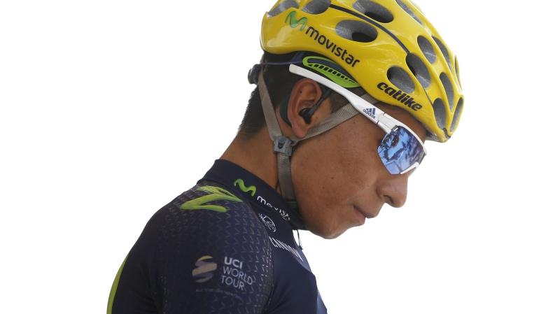 Nairo Quintana está de luto: Nairo Quintana está de luto