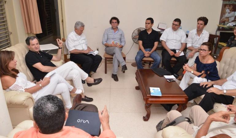 Conferencia Episcopal de Colombia se reunió en Cuba con las Farc