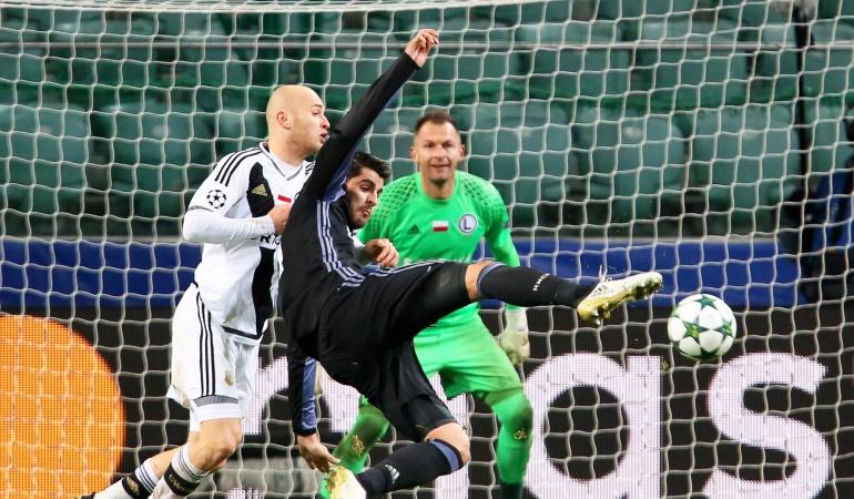 Real Madrid: Legia saca un empate ante Real Madrid caótico en lo táctico