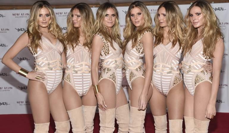 Disfraz de Heidi Klum este 2016: clones de Heidi Klum: [Videos] Paso a paso para llegar a verse como la modelo alemana Heidi Klum