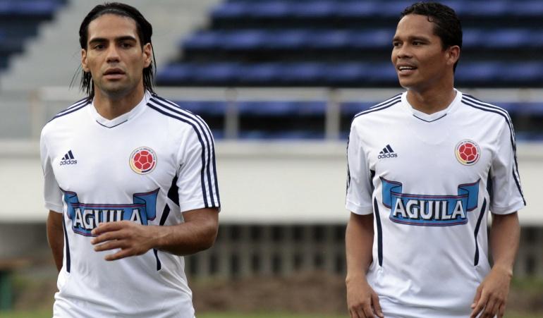 Falcao Bacca Selección Colombia: Falcao-Bacca, dupla conocida para Pékerman