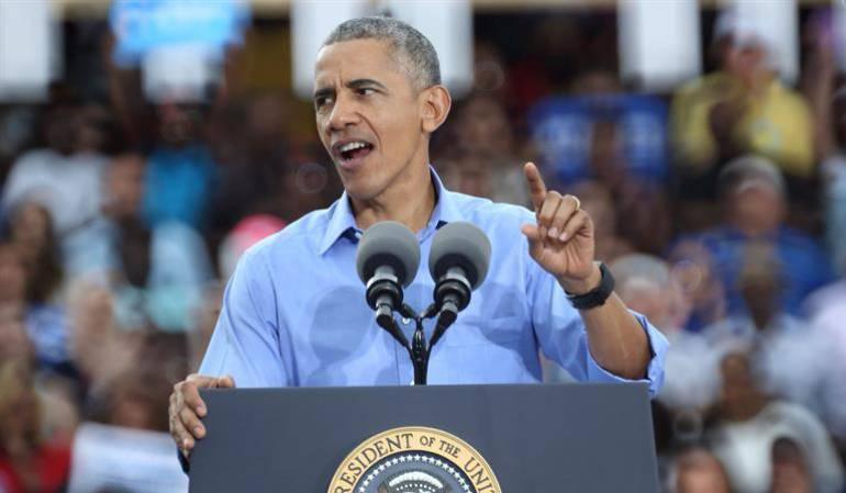 """Obama elecciones Estados Unidos: Obama pide a sus votantes que elijan a Clinton para mantener sus """"principios"""""""