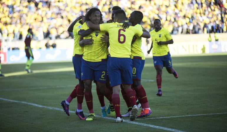 Eliminatorias Rusia 2018 Ecuador Venezuela: Ecuador retoma el camino goleando a Venezuela