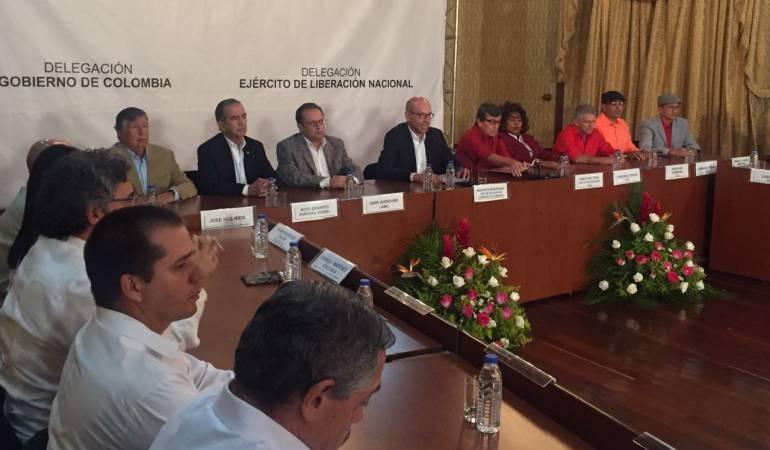 Reunión clave entre Iglesia Católica y negociadores del Gobierno para diálogos con el Eln