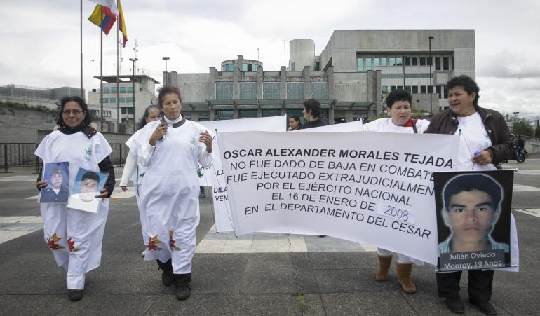 Madres de Soacha esperan sentencia ejemplar para 21 militares condenados por falsos positivos