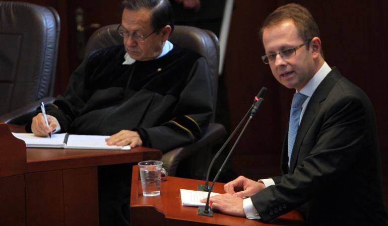 Ordenan libertad bajo fianza para Andrés Felipe Arias