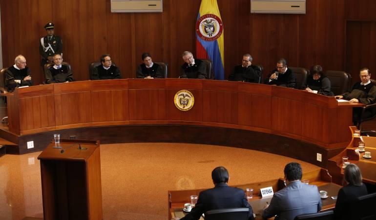 Corte definirá el futuro del acto legislativo para la paz: Presentarán ponencia que define la demanda contra el Acto Legislativo para la Paz