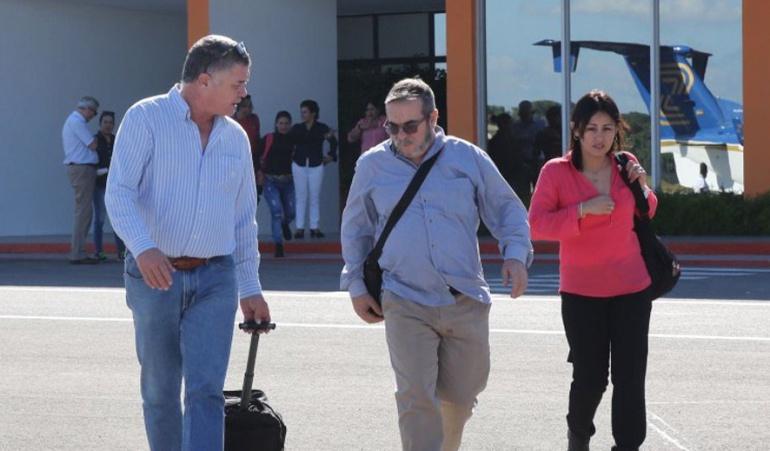 Nuevo acuerdo de paz: 'Timochenko' y secretariado de las Farc ya están en Colombia