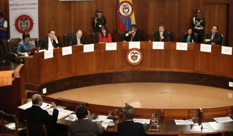 nuevo acuerdo de paz: Corte Constitucional pide al Gobierno copia original del nuevo acuerdo de paz