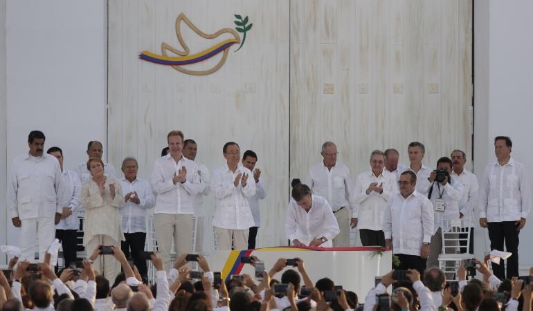Nuevo acuerdo de paz: Así se desarrollará el acto de la firma del nuevo acuerdo de paz en Bogotá