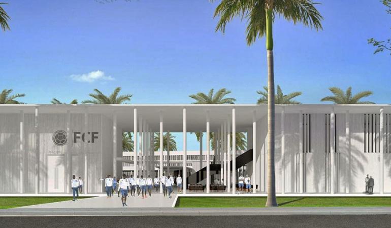 La Federación presenta sede de la Selección en Barranquilla