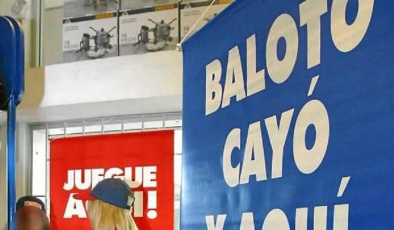 Cae Baloto en Bogotá: Con $8 mil millones de pesos Baloto sorprende a un afortunado bogotano