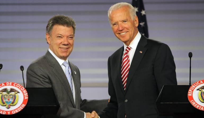 Llegó a Cartagena el vicepresidente de Estados Unidos para visita oficial