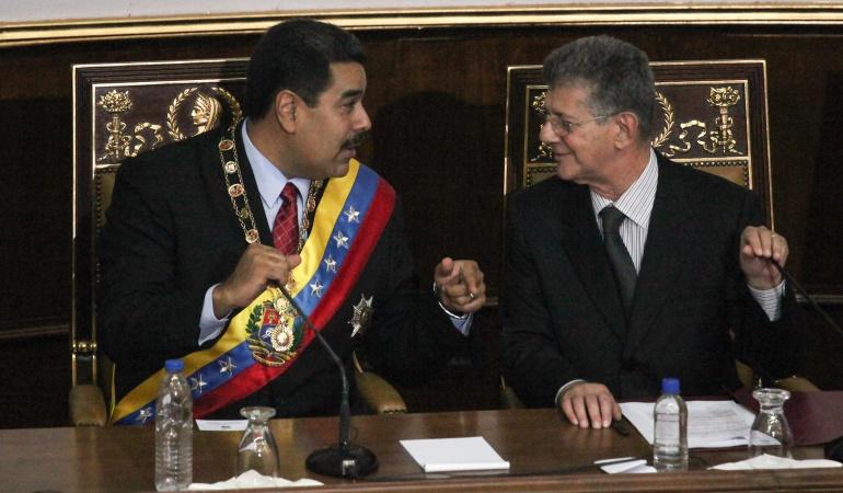 """Crisis del chavismo: Oposición venezolana hará revisión """"drástica"""" de resultados del diálogo"""