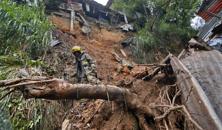 Afectaciones por temporada de lluvias en el país: Temporada de lluvias deja 38 muertos y 46 mil familias afectadas