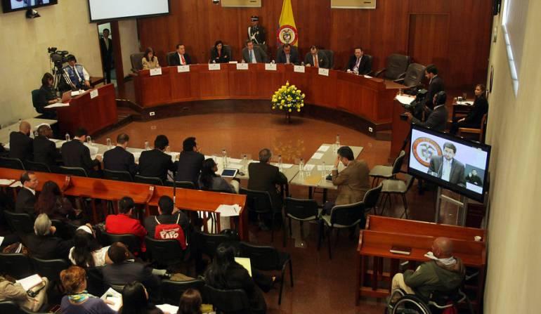 """Corte decisión Fast track: Reanudan sala extraordinaria en la Corte Constitucional sobre decisión del """"Fast Track"""""""