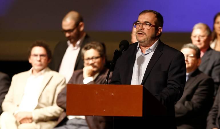 Aprobación Fast Track: Colombia avanza un paso más hacia la paz: Timochenko