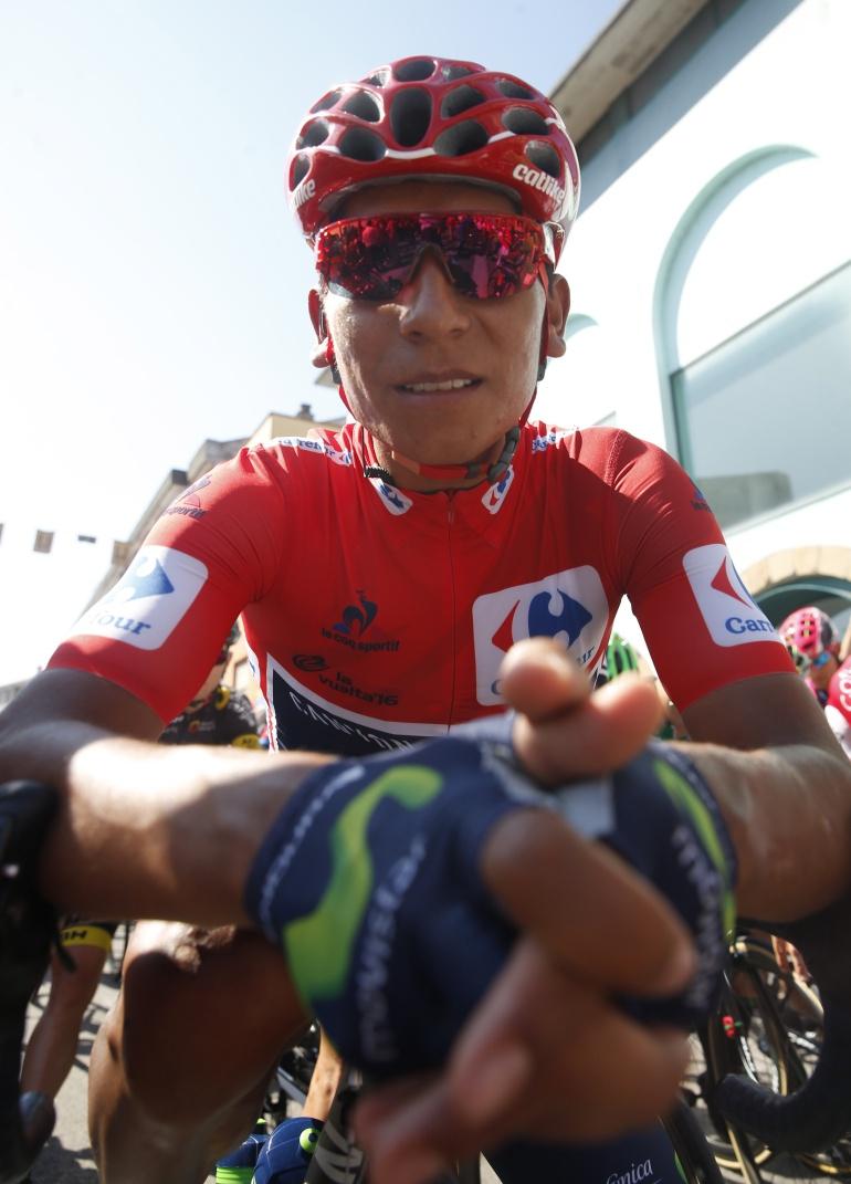Nairo Quintana: Nairo Quintana, embajador de los Juegos Centroamericanos y del Caribe