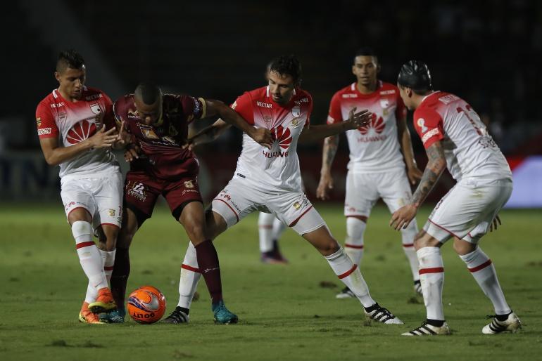 Santa Fe Tolima final Liga Águila: Santa Fe y Tolima definen en 90 minutos el campeón de la Liga Águila II