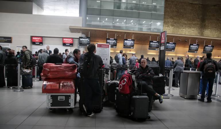 Aeropuerto El Dorado: Normalidad en el aeropuerto El Dorado luego de falla en el fluido eléctrico: Aerocivil