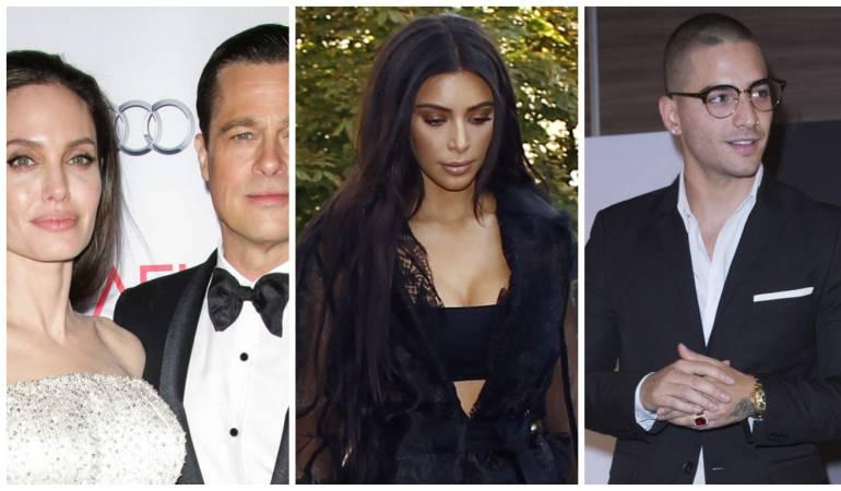 Escándalos de famosos en este 2016: Kim Kardashian, Brangelina y Amber y Johnny,: Recuento: los famosos que dieron de qué hablar en 2016