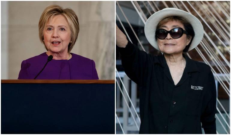 Hillary Clinton y Yoko Ono: El imparable rumor del romance entre Yoko Ono y Hillary Clinton