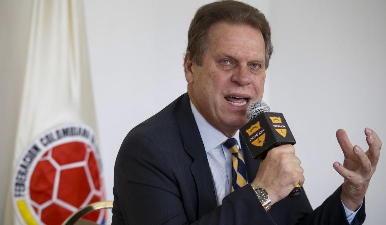 Ramón Jesurún Conmebol representante Fifa: Conmebol elige a Ramón Jesurún como su representante ante la FIFA